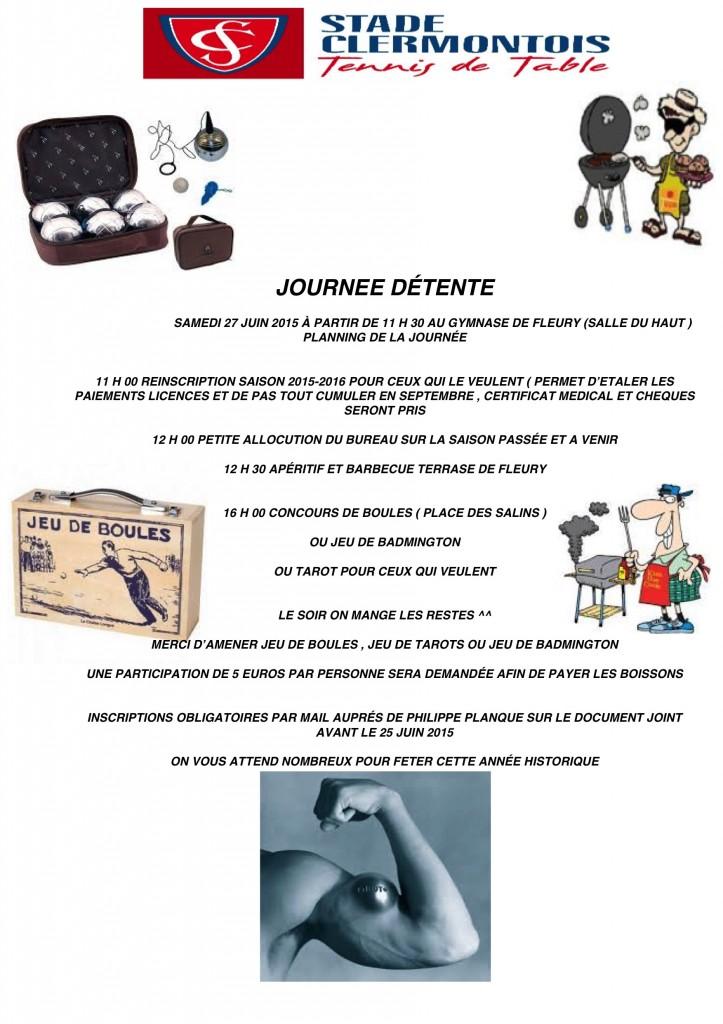 JOURNEE DÉTENTE
